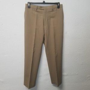 LRL Wool Total Comfort Tan Pants 32 x 30
